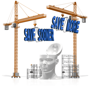 Save sooner save more